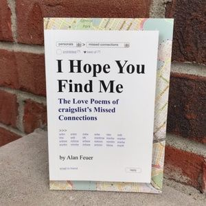 "Knock Knock ""I Hope You Find Me"" Book"